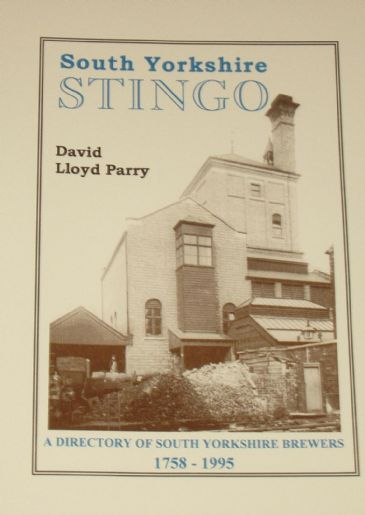 South Yorkshire Stingo - A Directory of South Yorkshire Brewers 1758-1995
